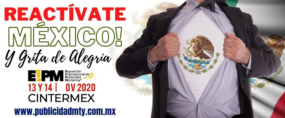 REACTIVATE MÉXICO Y GRITA DE ALEGRÍA