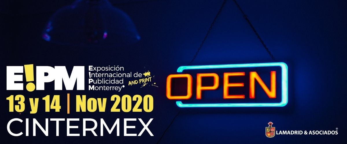 ¡ Reactivación de Expo Publicidad 2020 !