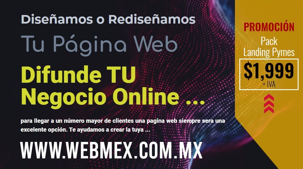 WEBMEX.COM.MX Diseño Paginas Web